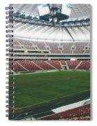 Warsaw Stadion Spiral Notebook