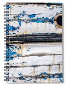 Was Once Blue Spiral Notebook
