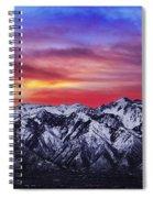 Wasatch Sunrise 2x1 Spiral Notebook