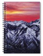 Wasatch Sunrise 3x1 Spiral Notebook