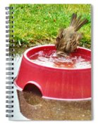 Wash Your Face In My Sink Spiral Notebook