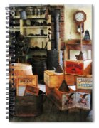 Washboards And Soap Spiral Notebook