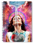 Washed By The Water Spiral Notebook