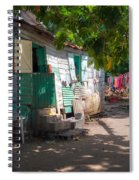 Washing Clothes Spiral Notebook