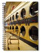 Washing Machines At Laundromat Spiral Notebook