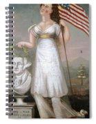 Washington & Liberty, C1810 Spiral Notebook