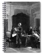 Washington And Lafayette Spiral Notebook