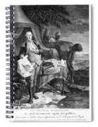 Washington At Yorktown Spiral Notebook