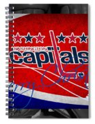 Washington Capitals Christmas Spiral Notebook