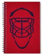 Washington Capitals Goalie Mask Spiral Notebook