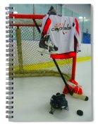 Washington Capitals Home Hockey Jersey Spiral Notebook