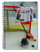 Washington Capitals Mike Green Away Hockey Jersey Spiral Notebook