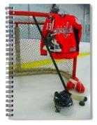 Washington Capitals Nicklas Backstrom Home Hockey Jersey Spiral Notebook