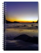 Washington Coast Tides Retreat Spiral Notebook