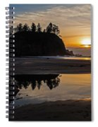 Washington Coast Tranquility Spiral Notebook