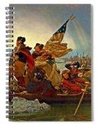 Washington Crossing The Delaware Emanuel Leutze 1851 Spiral Notebook