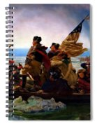 Washington Crossing The Delaware River Spiral Notebook