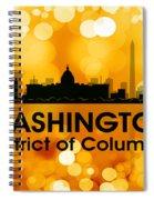 Washington Dc 3 Spiral Notebook