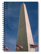 Washington Dc Washington Monument  Spiral Notebook