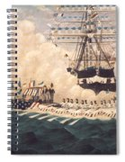 Washington In New York Spiral Notebook