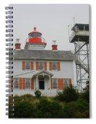 Washington Light House Spiral Notebook