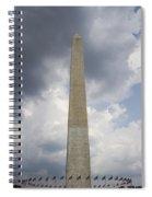 Washington Monument 1 Spiral Notebook