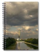 Washington Monument And Capitol Spiral Notebook