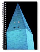 Washington Monument At Night Spiral Notebook
