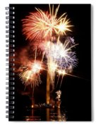 Washington Monument Fireworks 2 Spiral Notebook