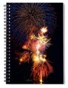 Washington Monument Fireworks 3 Spiral Notebook