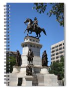 Washington Monument - Richmond Va Spiral Notebook