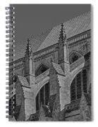 Washington National Cathedral  Bw Spiral Notebook