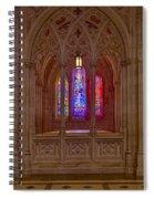 Washington National Cathedral Colors Spiral Notebook