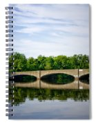 Washington Road Bridge Over Lake Carnegie Princeton Spiral Notebook