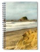 Washington State Seastacks Spiral Notebook