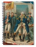 Washington Taking Leave Of His Officers Spiral Notebook
