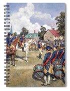 Washingtons Army, 1776 Spiral Notebook