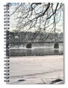 Washingtons Crossing Winter Spiral Notebook