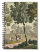 Washingtons House At Mount Vernon Spiral Notebook