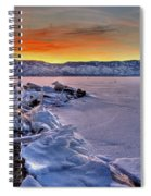 Washoe Ice Spiral Notebook