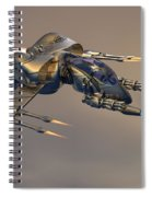 Wasp Fighter Spiral Notebook