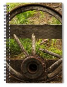 Www. Wasted Wagon Wheel Spiral Notebook