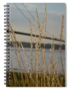 Wasting Time By The Humber Spiral Notebook