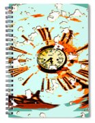 Wasting Time Spiral Notebook