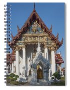 Wat Amarintaram Ubosot Dthb1507 Spiral Notebook