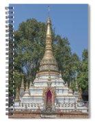 Wat Chai Monkol Phra Chedi Dthcm0860 Spiral Notebook