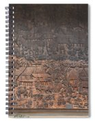 Wat Chai Monkol Phra Ubosot Diorama Of Village Life Dthcm0856 Spiral Notebook