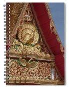 Wat Luang Pu Supa Ubosot Gable Dthp330 Spiral Notebook