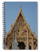 Wat Na Kwai Ubosot Front Gable Dthu161 Spiral Notebook