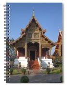 Wat Phra Singh Phra Ubosot Dthcm0246 Spiral Notebook